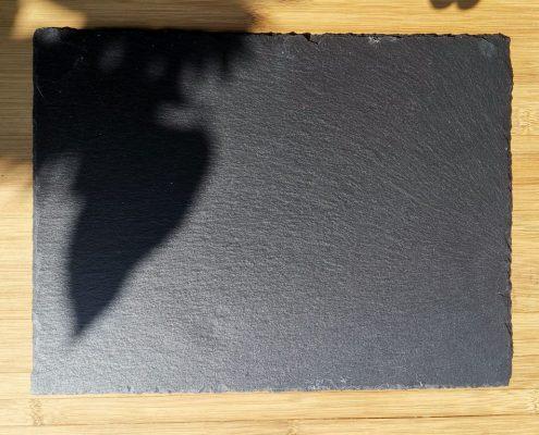 Mietgeschirr – Buffetplatte Schiefer