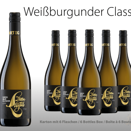 Weißburgunder classic, 6er Karton