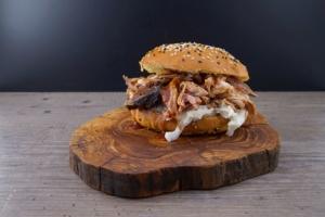 Pulled Pork, von PFALZ BBQ, Original aus dem Smoker