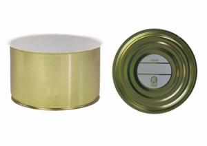 Weißblechdosen mit Deckel, Weißblechdosen, 99-63 stapelbar