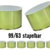 Weißblechdosen mit Deckel, Weißblechdosen, 99-63