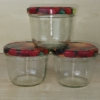 Marmeladengläser 230 ml, mit Deckel