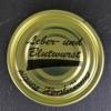 Dosendeckel, Leber und Blutwurst, eigene Herstellung, PFALZ BBQ