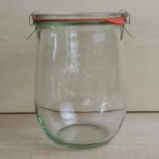 Weckglas, Tulpenglas, 1062ml, 1l, PFALZ BBQ