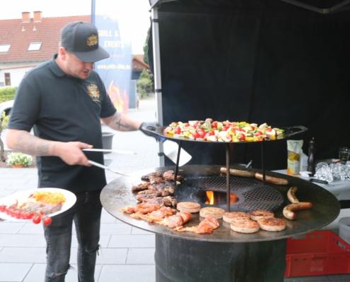 Feuertonne, Feuerring, Plate, PFALZ BBQ, 11