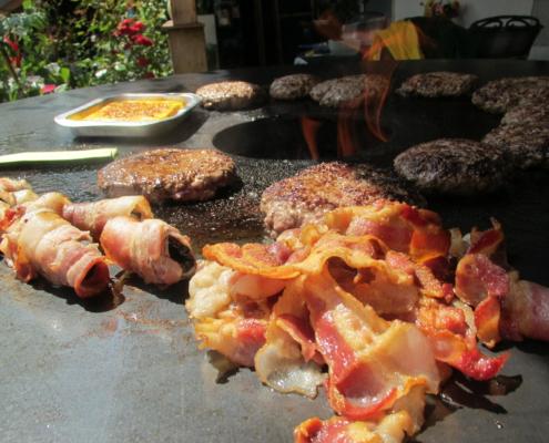 Feuertonne, Feuerring, Plate, PFALZ BBQ, 4