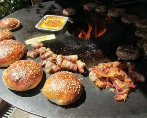 Feuertonne, Feuerring, Plate, PFALZ BBQ, 5
