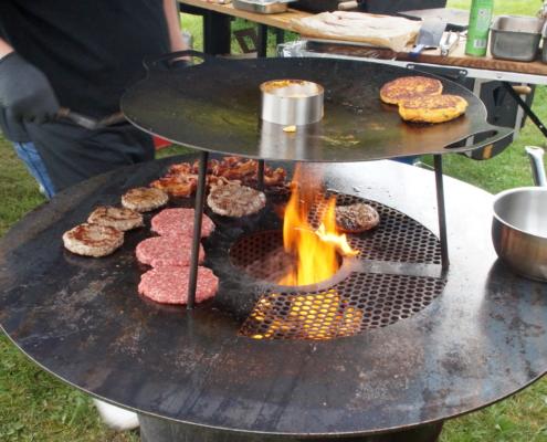 Feuertonne, Feuerring, Plate, PFALZ BBQ, 8