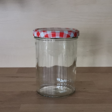 Wurstglas 440ml, Einmachglas, Twist-Off-Glas, 440ml, PFALZ BBQ