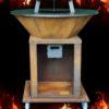 Feuerplatten Grill, roll, PFALZ BBQ